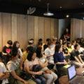 台灣5號影像的職員們參與了CG動畫業界的專題講座。